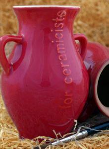 Pd633 10 Raudona - blizgi 990-1150°C 1kg