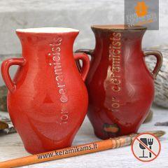 Aguonėlė - Raudona glazūra B-18 1020-1060°C 1l.