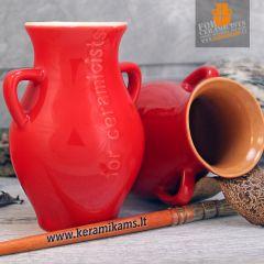 Raudona - blizgi glazūra 980-1080°C 1l.