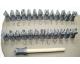 Didžiųjų raidžių Lithos įspaudų rinkinys 10 mm